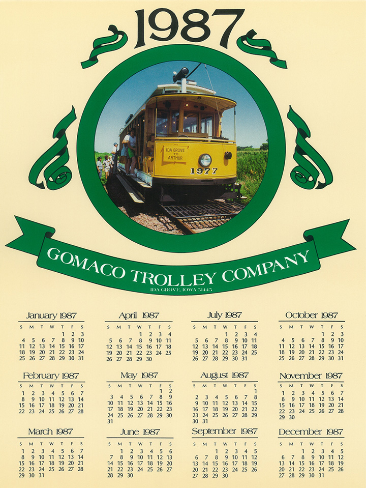 Gomaco Trolley Company Page Name